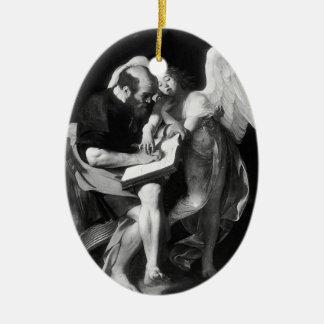 Caravaggio- Saint Matthew and the Angel Ornaments