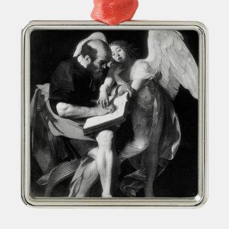 Caravaggio- Saint Matthew and the Angel Ornament