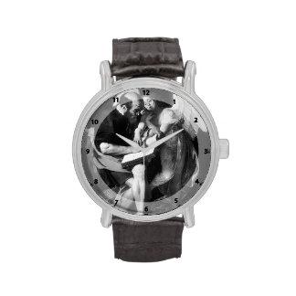 Caravaggio- Saint Matthew and the Angel Wrist Watch