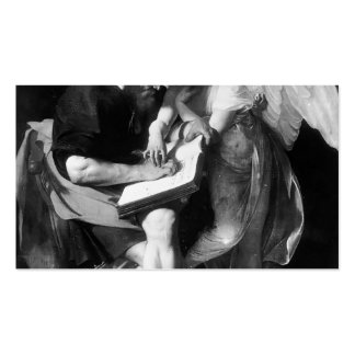 Caravaggio- Saint Matthew and the Angel Pack Of Standard Business Cards