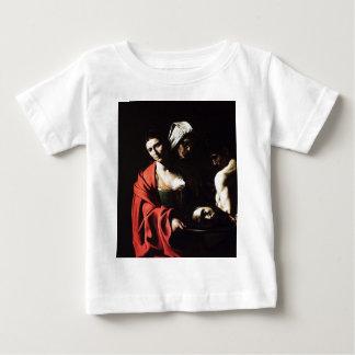 Caravaggio - Salome - Classic Baroque Artwork Baby T-Shirt