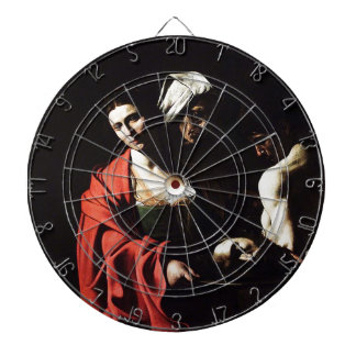 Caravaggio - Salome - Classic Baroque Artwork Dartboard