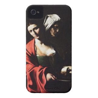 Caravaggio - Salome - Classic Baroque Artwork iPhone 4 Case