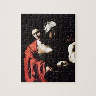 Caravaggio - Salome - Classic Baroque Artwork Jigsaw Puzzle