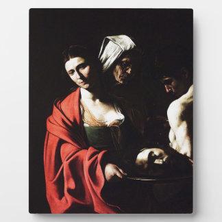 Caravaggio - Salome - Classic Baroque Artwork Plaque