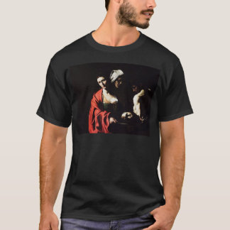 Caravaggio - Salome - Classic Baroque Artwork T-Shirt