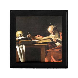 Caravaggio - San Gerolamo - Renaissance Painting Gift Box