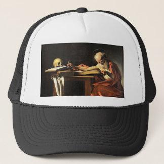 Caravaggio - San Gerolamo - Renaissance Painting Trucker Hat