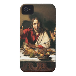Caravaggio - Supper at Emmaus - Classic Painting Case-Mate iPhone 4 Case