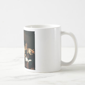 Caravaggio - Supper at Emmaus - Classic Painting Coffee Mug
