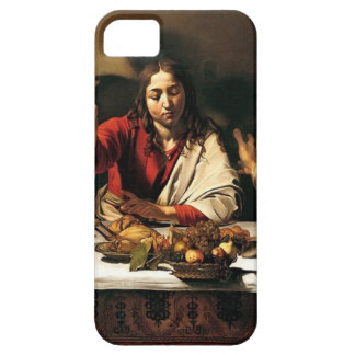 Caravaggio - Supper at Emmaus - Classic Painting iPhone 5 Covers