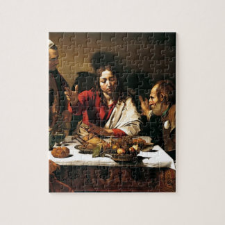 Caravaggio - Supper at Emmaus - Classic Painting Jigsaw Puzzle