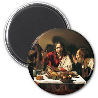 Caravaggio - Supper at Emmaus - Classic Painting Magnet