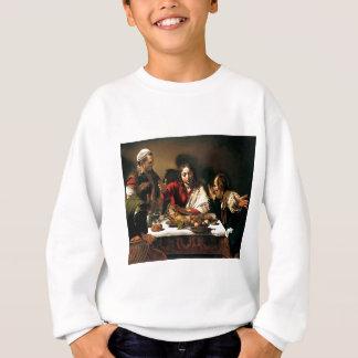 Caravaggio - Supper at Emmaus - Classic Painting Sweatshirt