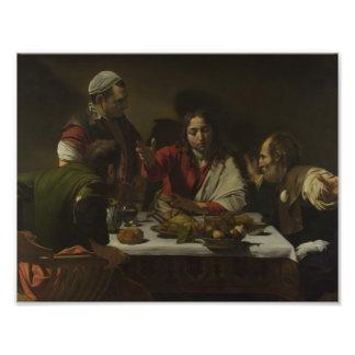 Caravaggio - Supper at Emmaus Photo