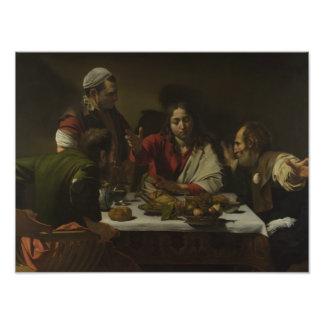 Caravaggio - Supper at Emmaus Photo Art