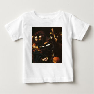Caravaggio - Taking of Christ - Classic Artwork Baby T-Shirt