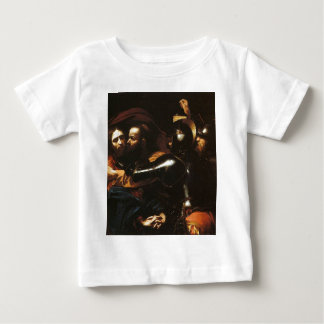 Caravaggio - Taking of Christ - Classic Artwork Baby T-Shirt