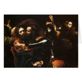Caravaggio - Taking of Christ - Classic Artwork Card