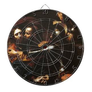 Caravaggio - Taking of Christ - Classic Artwork Dartboard