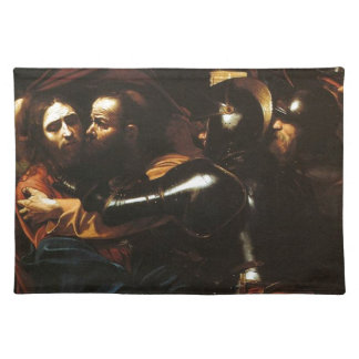 Caravaggio - Taking of Christ - Classic Artwork Placemat