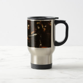 Caravaggio - Taking of Christ - Classic Artwork Travel Mug