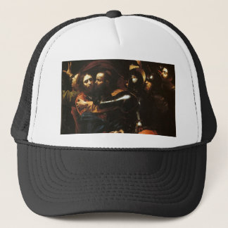 Caravaggio - Taking of Christ - Classic Artwork Trucker Hat