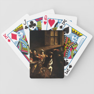 Caravaggio - The Calling of Saint Matthew Bicycle Playing Cards