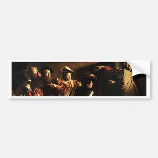 Caravaggio - The Calling of Saint Matthew Bumper Sticker