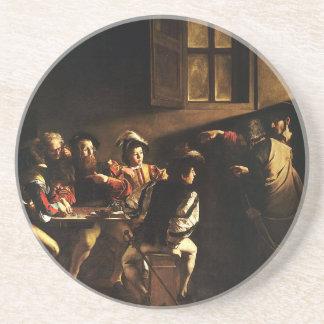 Caravaggio - The Calling of Saint Matthew Coaster