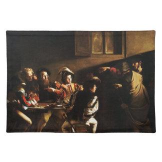 Caravaggio - The Calling of Saint Matthew Placemat