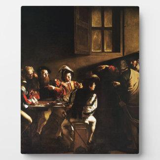 Caravaggio - The Calling of Saint Matthew Plaque