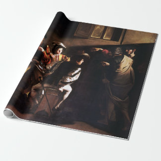 Caravaggio The Calling of Saint Matthew Wrapping Paper