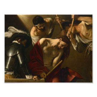 Caravaggio - The Crowning with Thorns Photo