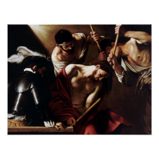 Caravaggio The Crowning with Thorns Poster