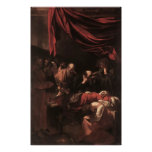 Caravaggio The Death Of The Virgin Poster