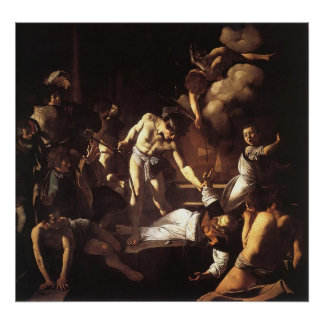 Caravaggio The Martyrdom Of St Matthew Poster