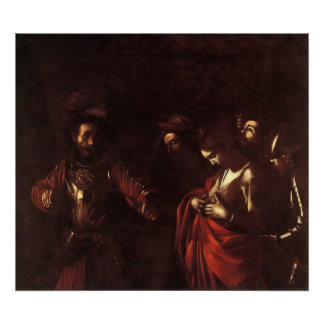 Caravaggio The Martyrdom Of St Ursula Poster