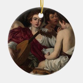 Caravaggio - The Musicians - Classic Artwork Ceramic Ornament