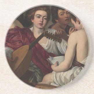 Caravaggio - The Musicians - Classic Artwork Coaster
