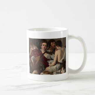 Caravaggio - The Musicians - Classic Artwork Coffee Mug