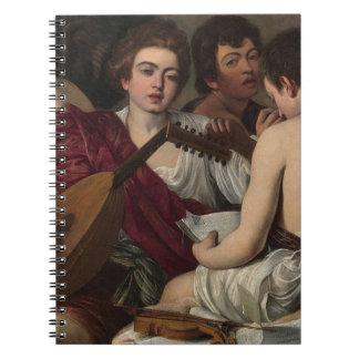 Caravaggio - The Musicians - Classic Artwork Notebook