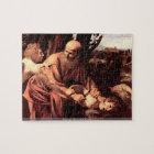 Caravaggio - The sacrifice of Isaacs puzzle