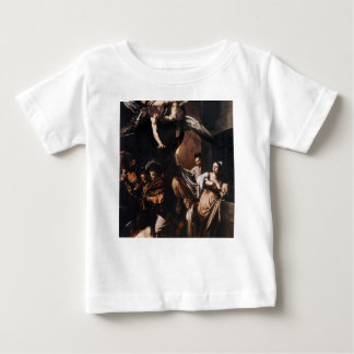Caravaggio - The seven Works of Mercy Painting Baby T-Shirt