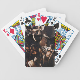 Caravaggio - The seven Works of Mercy Painting Bicycle Playing Cards