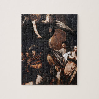 Caravaggio - The seven Works of Mercy Painting Jigsaw Puzzle