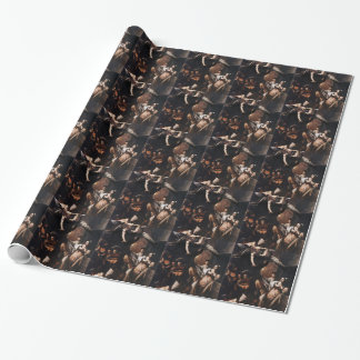 Caravaggio - The seven Works of Mercy Painting Wrapping Paper