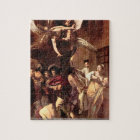 Caravaggio - The seven works of mercy puzzle