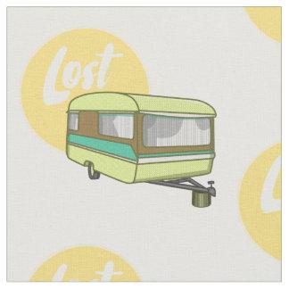Caravan Lost Rerto Sixties Style Fabric