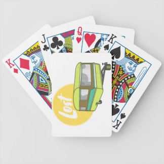 Caravan Lost Summer Holiday Bicycle Playing Cards
